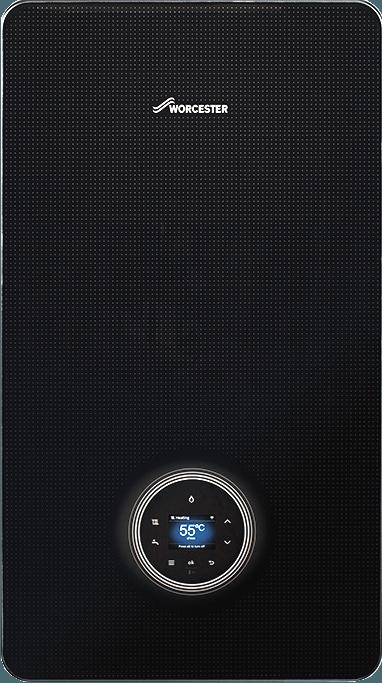 Worcester Bosch 8000 Style 30kW Black