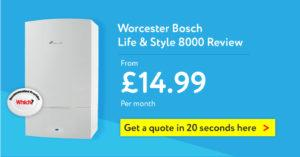 Worcester Bosch 8000 Style Life Compare Boiler Quotes