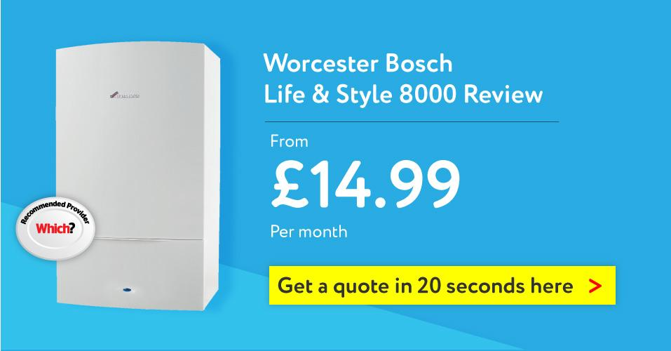 Worcester Bosch 8000 Style Life