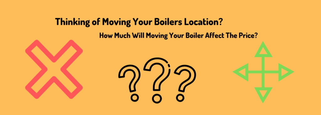 price of moving a boiler