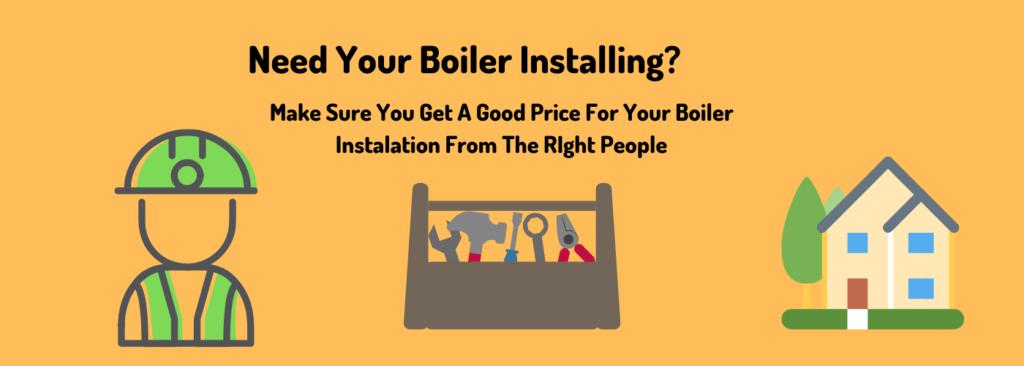 boiler installation price