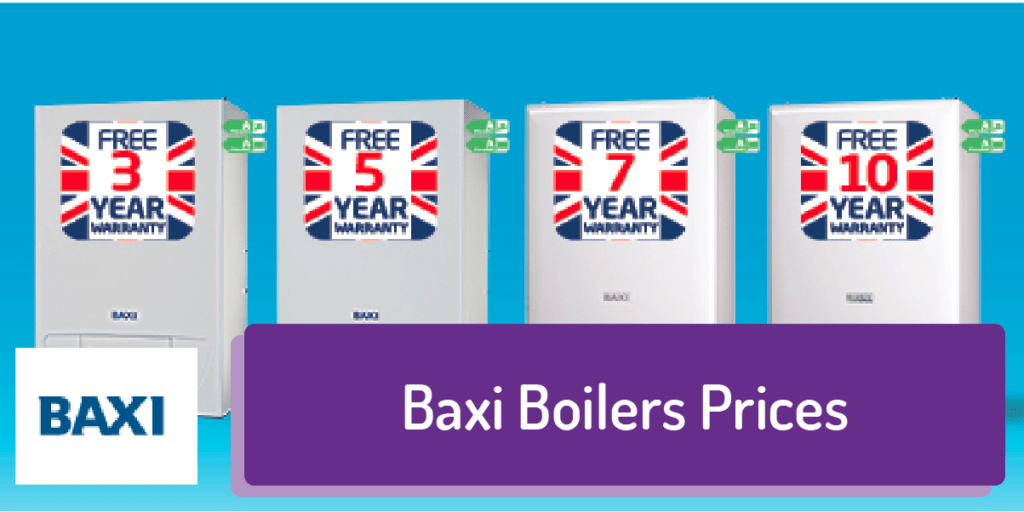 baxi boilers (prices)