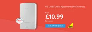 No credit check boiler finance Compare Boiler Quotes