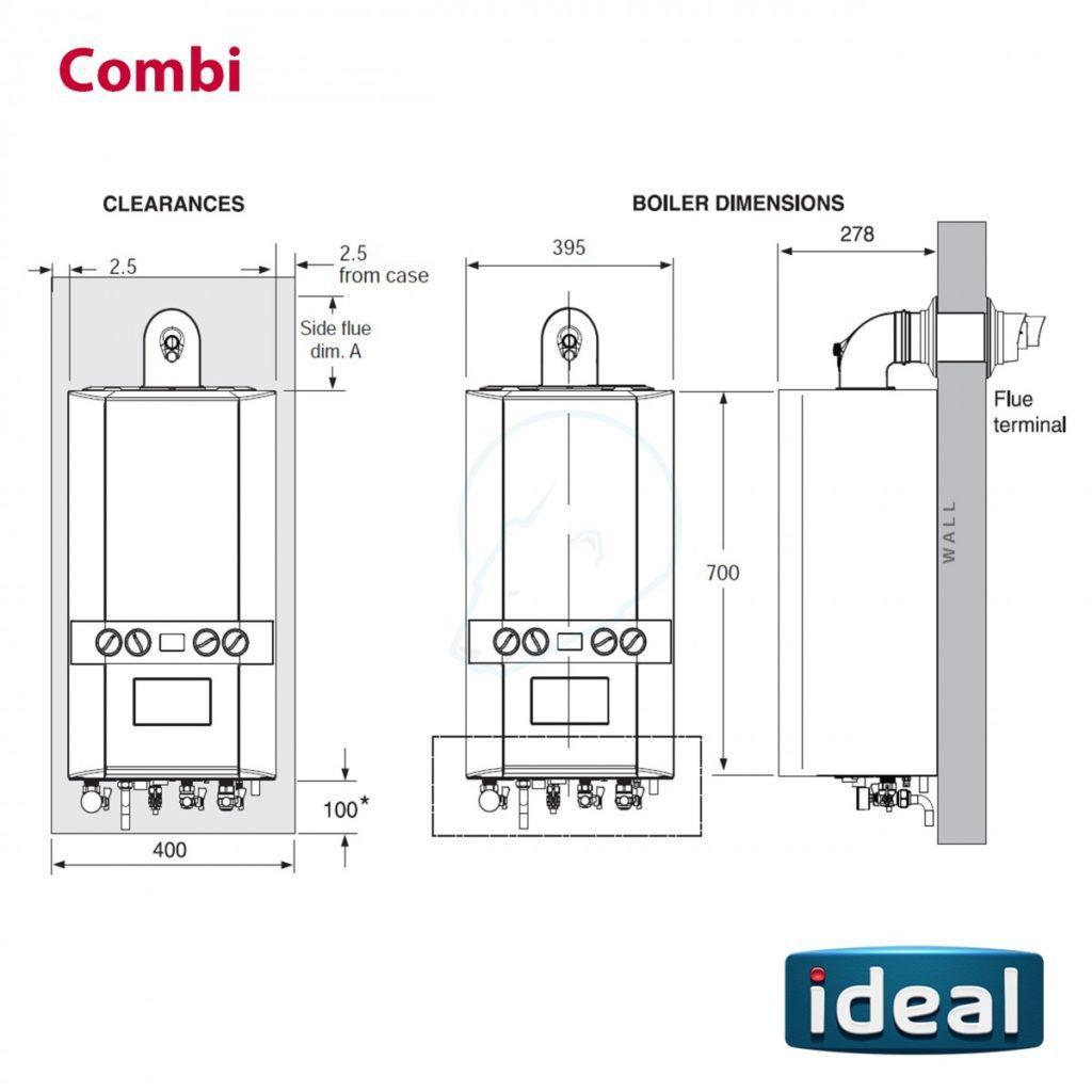 ideal boiler reviews dimensions