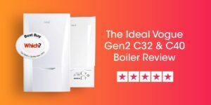 Ideal Vogue Gen2 C32 & C40 Review Compare Boiler Quotes