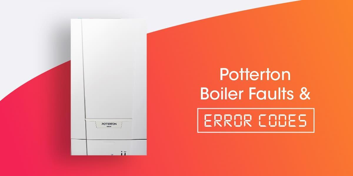 Potterton Boiler Faults & Error Codes
