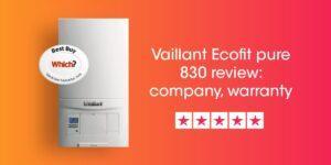 Vaillant Ecofit Pure 830 Review Compare Boiler Quotes