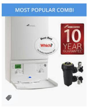 Worcester Bosch Greenstar CDI Compact Gas Boiler