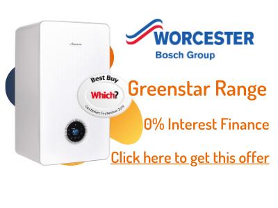 worcester bosch greenstar boiler prices