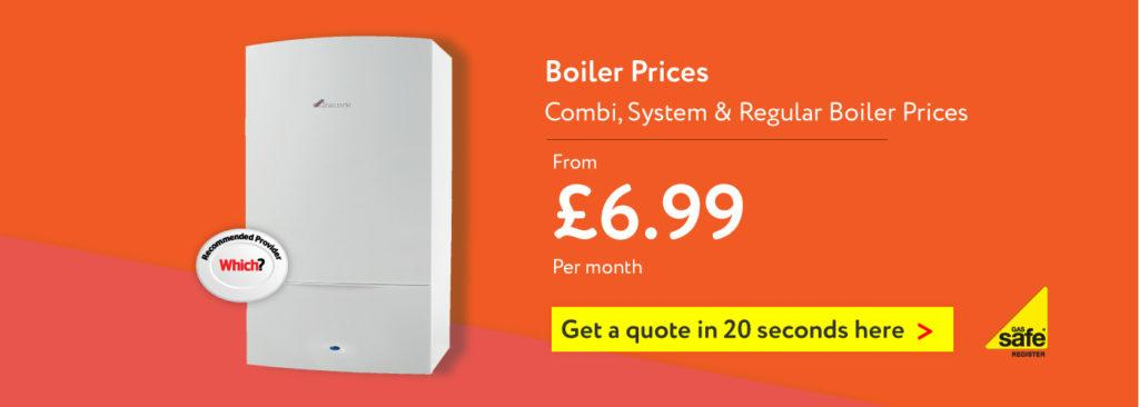 Gas Combi Boiler Prices