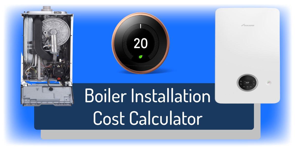 boiler installation cost calculator