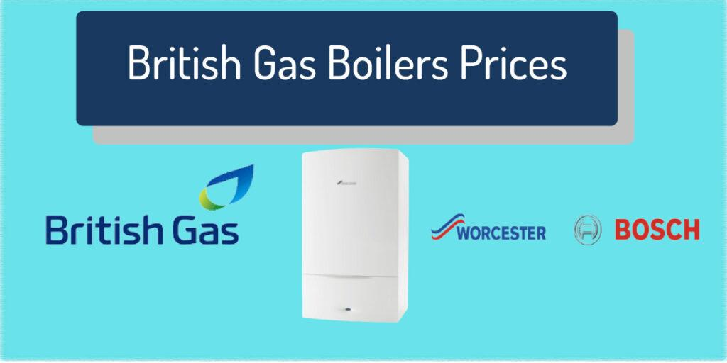 british gas boilers prices