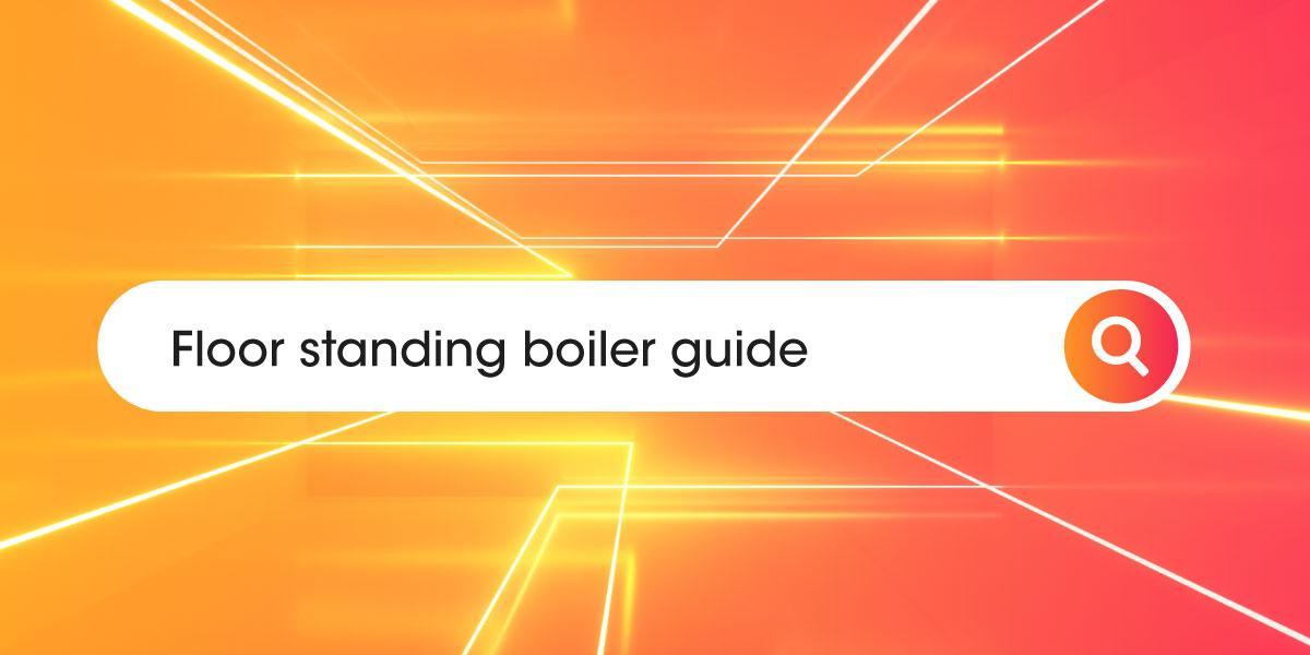 Floor standing boilers