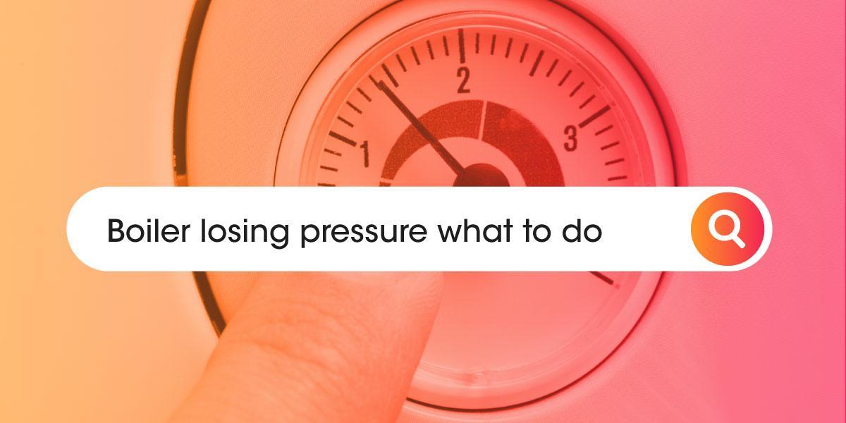 Boiler losing pressure