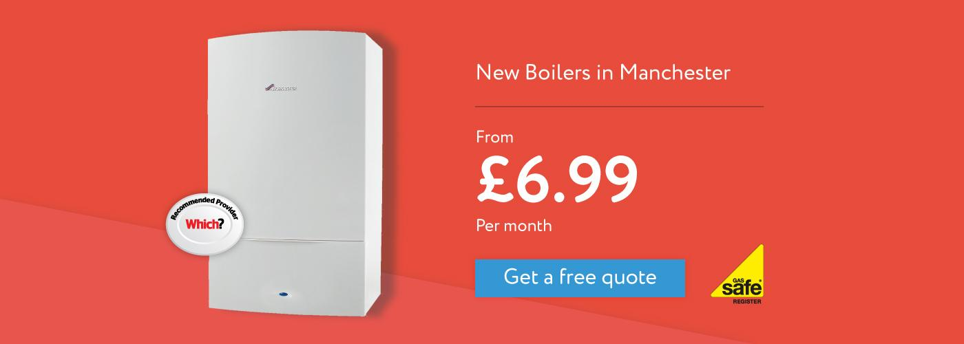 Manchester new boiler installation service repair Compare Boiler Quotes