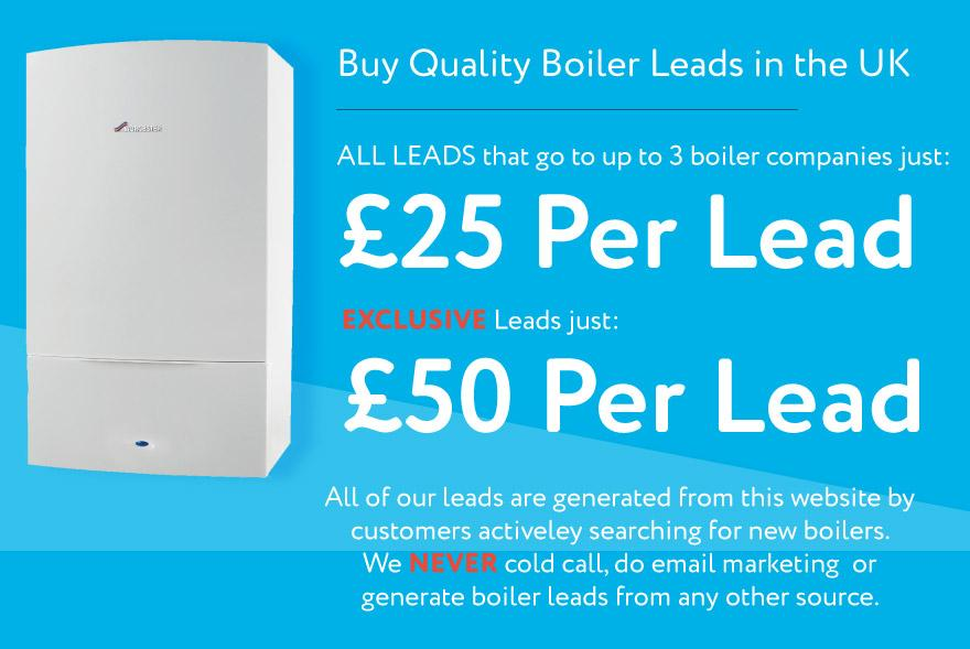 Register to Buy Boiler Leads Compare Boiler Quotes